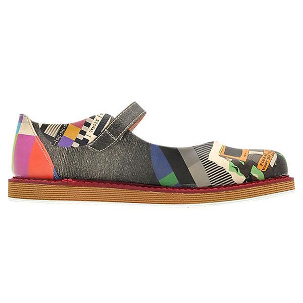 Dogo Shoes, mehrfarbig Schnallenballerinas Lucy No Signal, mehrfarbig Shoes,  Gute Qualität beliebte Schuhe e30975