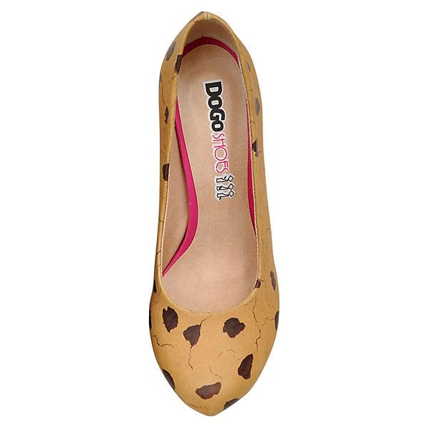 Dogo Shoes, Klassische Pumps mehrfarbig High-Heels Milk and Cookie, mehrfarbig Pumps  Gute Qualität beliebte Schuhe 63529b
