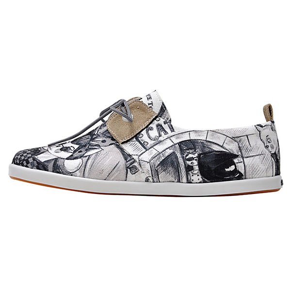 Dogo Shoes Schnürschuhe Fiery Cat City Life mehrfarbig