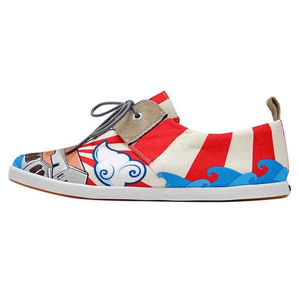 Dogo Shoes Schnürschuhe Fiery Maiden's Tower mehrfarbig