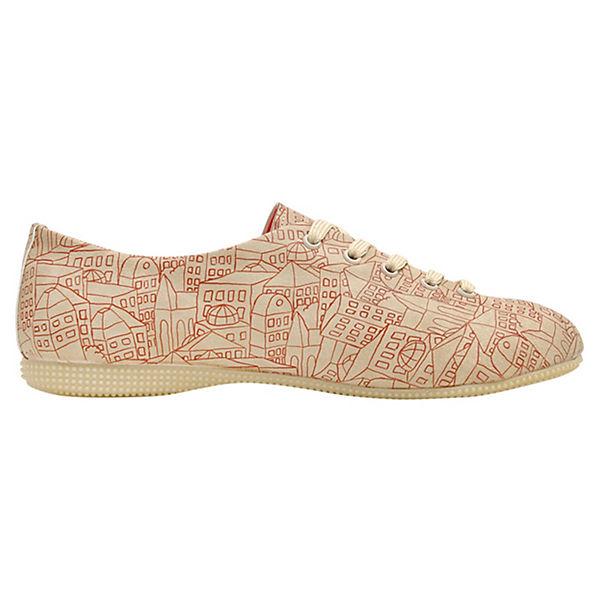 Dogo Shoes Sportliche Halbschuhe Oxford Town mehrfarbig
