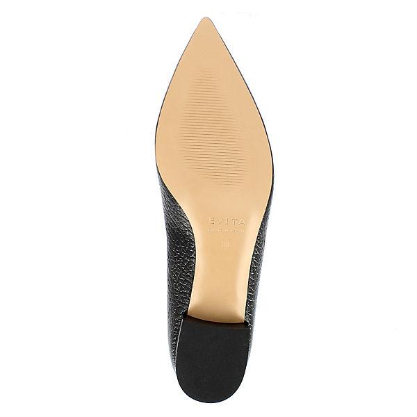 Evita schwarz FRANCA Shoes Shoes Loafers Evita Loafers FRANCA ww70rv