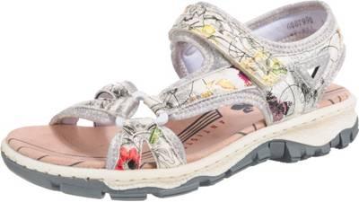 rieker Klassische Sandalen mehrfarbig weiche Einfasskanten