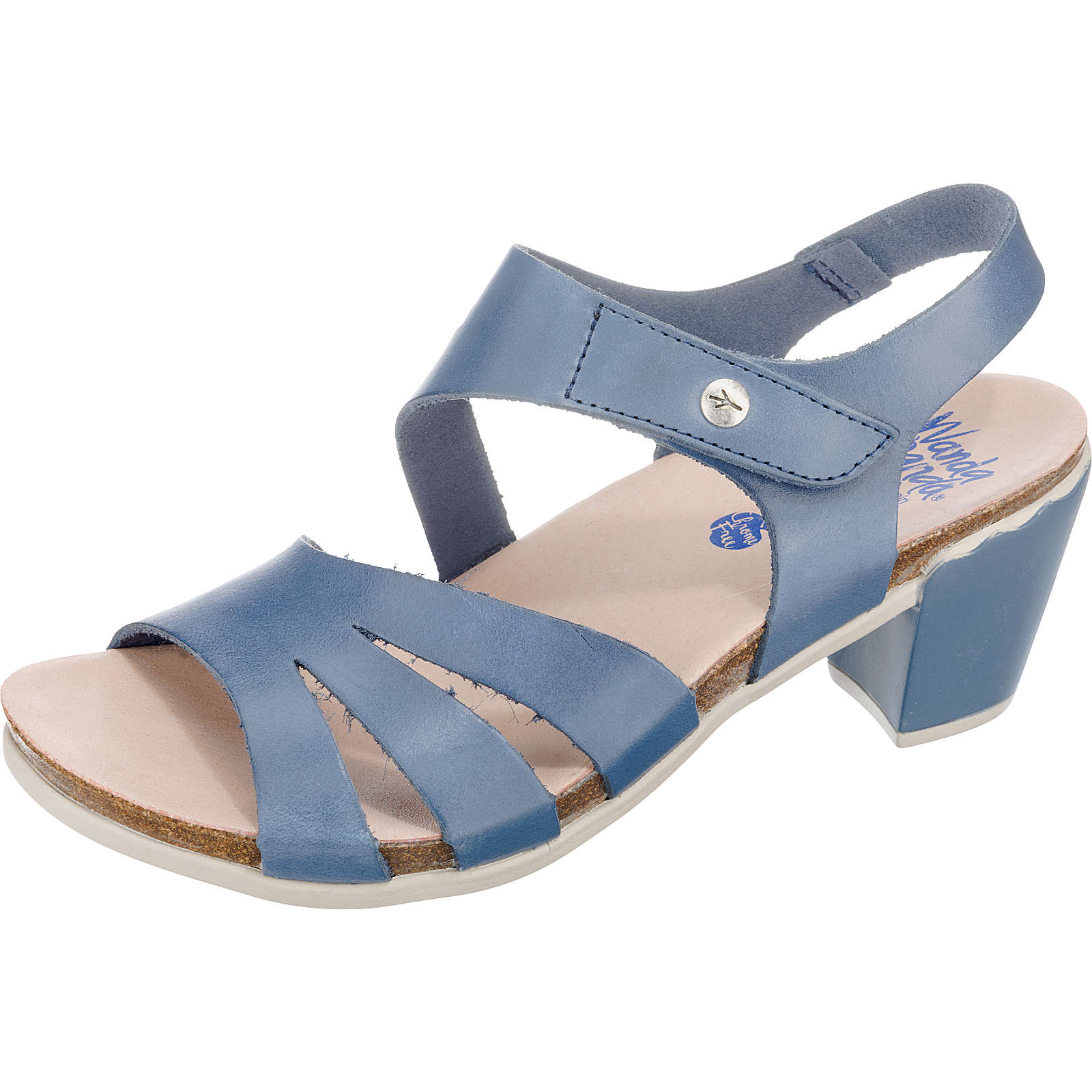 Wanda Panda Winda Klassische Sandaletten blau-kombi Damen Gr. 39