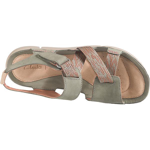 Clarks TriClover Komfort-Sandalen Qualität rosa/grün  Gute Qualität Komfort-Sandalen beliebte Schuhe 6498f8