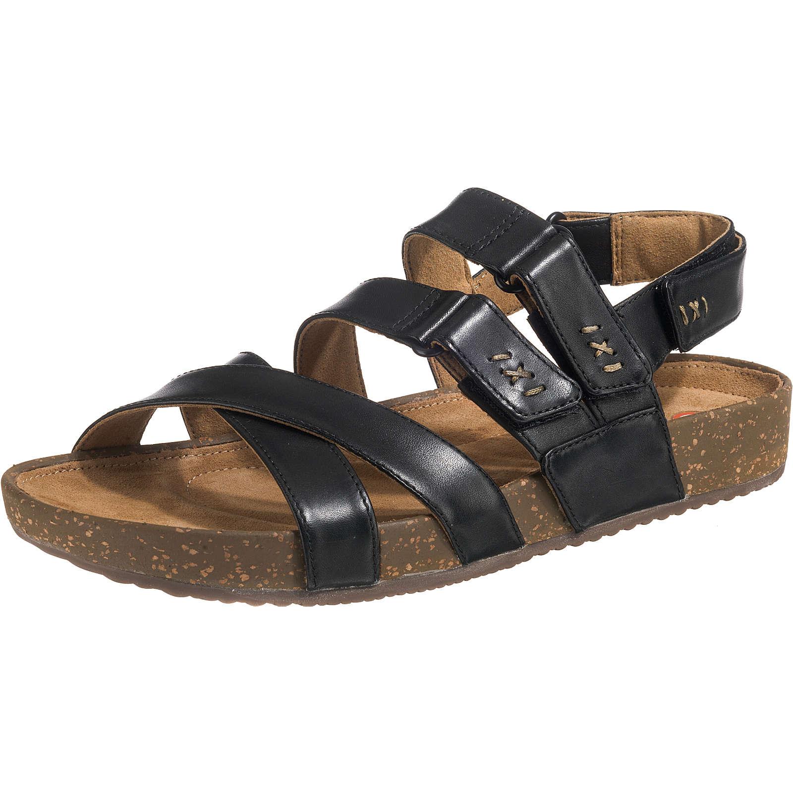 Clarks RosillaKeene Komfort-Sandalen schwarz Damen Gr. 39