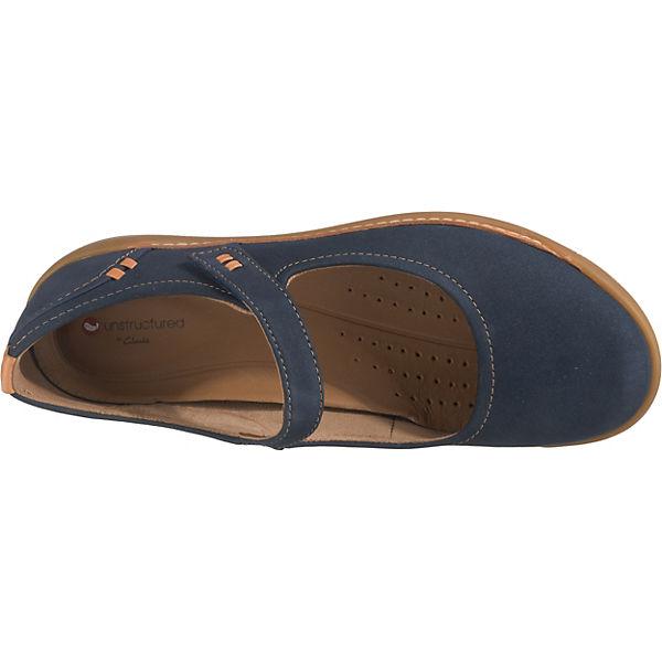 Komfort Komfort Clarks Clarks Ballerinas Komfort UnHaven Ballerinas UnHaven blau Ballerinas blau UnHaven Clarks 4pwqvxZ