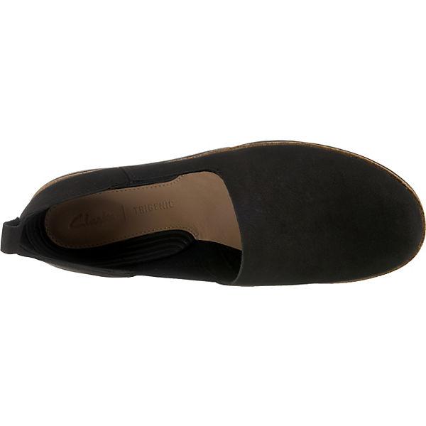Clarks TriCurve TriCurve TriCurve Klassische Slipper schwarz  Gute Qualität beliebte Schuhe 108aa0