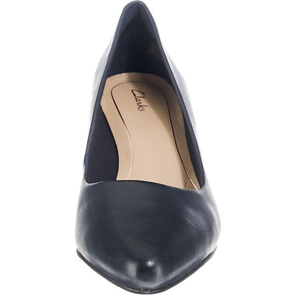Clarks, IsidoraFaye Klassische Qualität Pumps, blau  Gute Qualität Klassische beliebte Schuhe 50d341