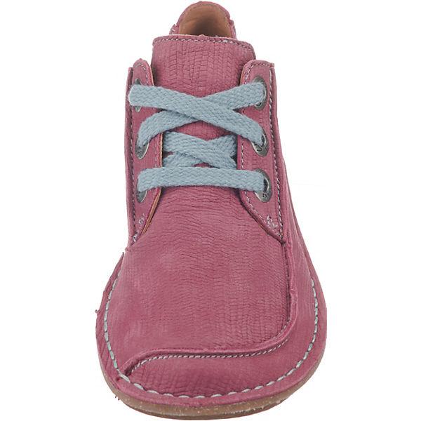 Clarks FunnyDream Schnürschuhe beliebte rosa  Gute Qualität beliebte Schnürschuhe Schuhe ac8c42