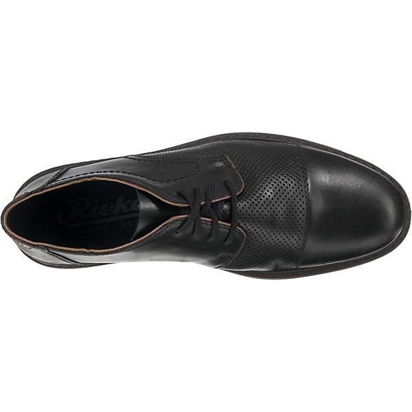 Rieker,  Business-Schnürschuhe, schwarz  Rieker, Gute Qualität beliebte Schuhe 463c84