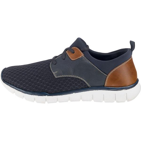 Low Low rieker Sneakers blau kombi rieker Sneakers pEdIwqp
