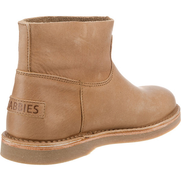 Klassische HEAVY LEATHER Shabbies GRAIN LOW ANKLE braun Amsterdam BOOT Stiefeletten xawngxF1q