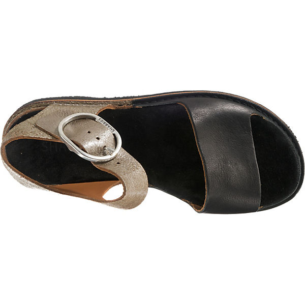 Shabbies Amsterdam, SANDAL NATURAL DYED LEATHER Klassische Sandalen, beliebte schwarz-kombi  Gute Qualität beliebte Sandalen, Schuhe bf2655