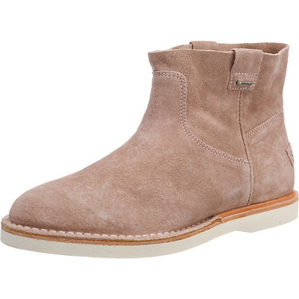Stiefeletten Klassische ANKLE BOOT rosa SUEDE LOW Amsterdam Shabbies fCFwYq6w
