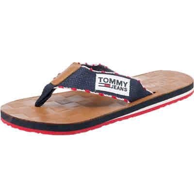 TJ LEATHER FOOTBED BEACH SANDAL Zehentrenner