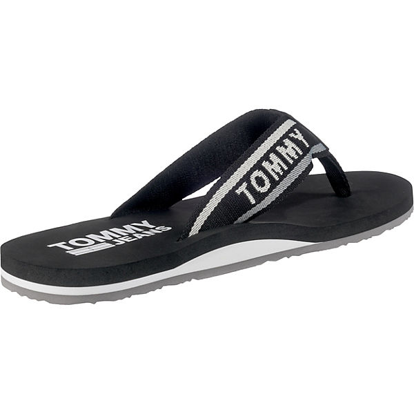 TOMMY JEANS TOMMY JEANS MENS BEACH SANDAL Zehentrenner schwarz