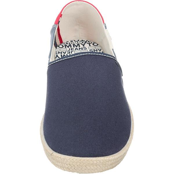 ON Slipper JEANS Sportliche blau SHOE kombi SLIP TOMMY TOMMY JEANS SUMMER X4T7q