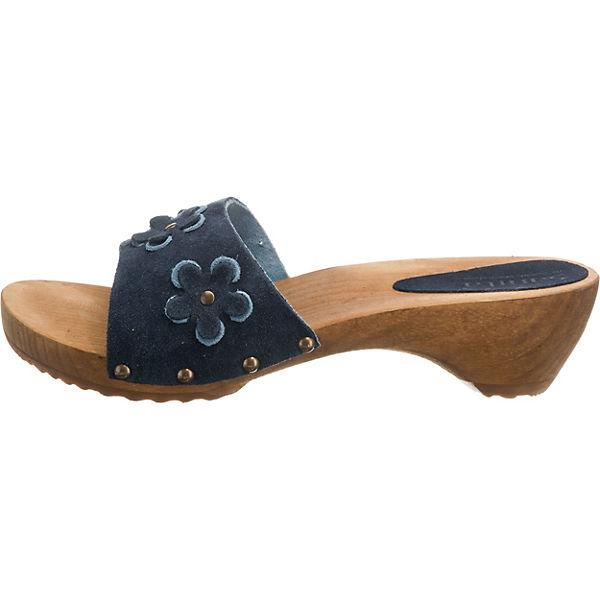 blau Sanita Sanita Komfort Pantoletten Pantoletten Komfort Sanita Komfort blau Pantoletten 6zq511