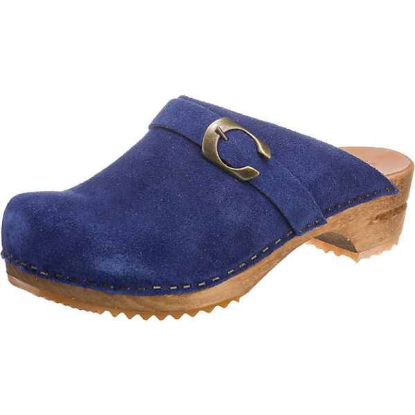 blau Sanita Sanita Pantoletten Komfort Pantoletten Komfort blau zUqRx7BU