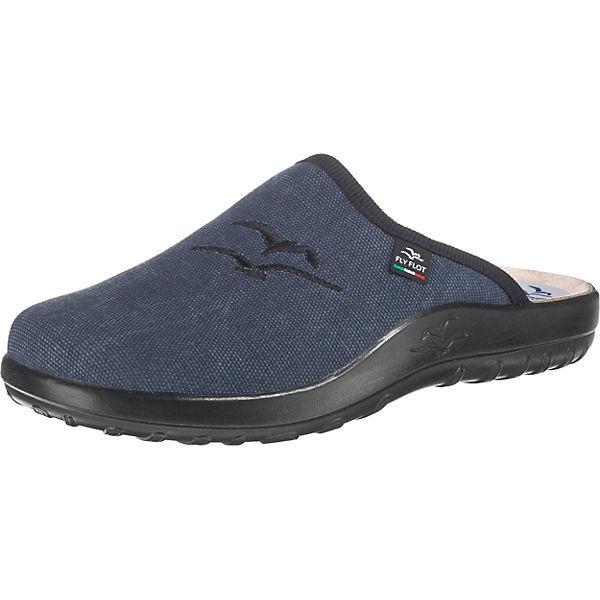 Beste Wahl FLY FLOT Pantoffeln blau