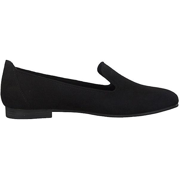 MARCO MARCO Klassische Slipper TOZZI TOZZI schwarz schwarz Slipper MARCO Klassische qX6Aw7IcW