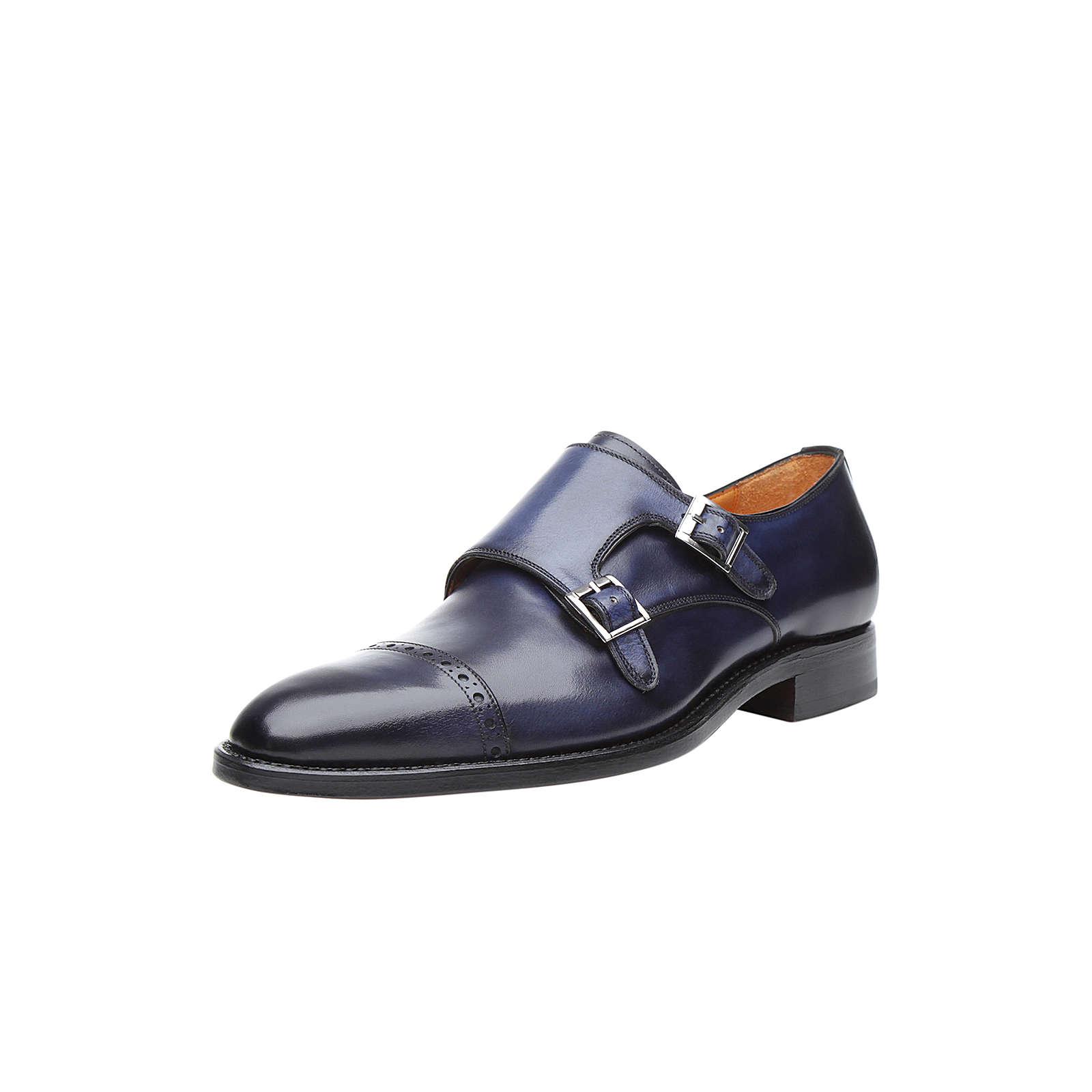 Shoepassion Halbschuhe No. 5422 Business-Schnürschuhe blau Herren Gr. 46