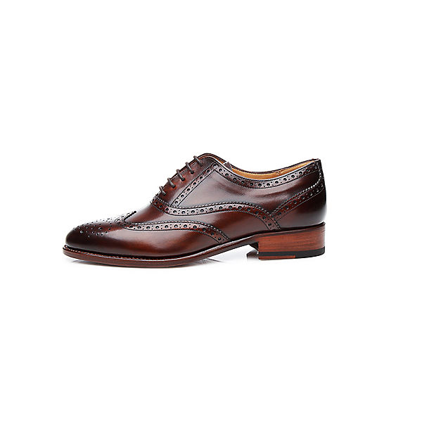 SHOEPASSION, Klassische Halbschuhe No. 1152, dunkelbraun  Gute Qualität beliebte Schuhe