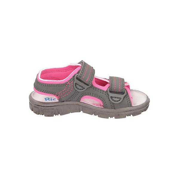 RICHTER Sandalen für Mädchen grau