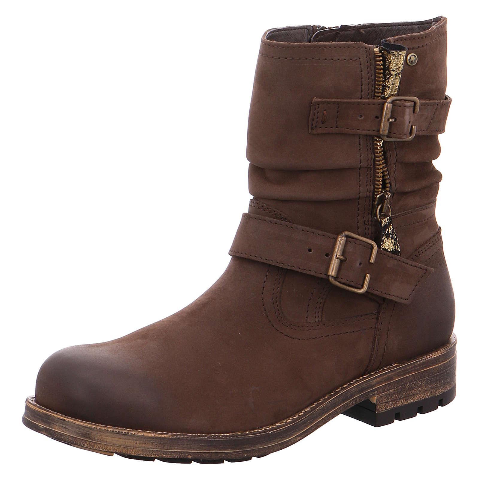 Jana Biker Boots braun Damen Gr. 37