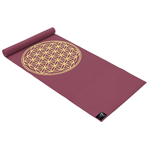 Fitnessmatten Yogamatte Basic Flower of Life