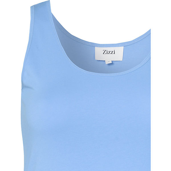Zizzi Top Top blau blau Zizzi Top blau Zizzi Uxw7w1dq