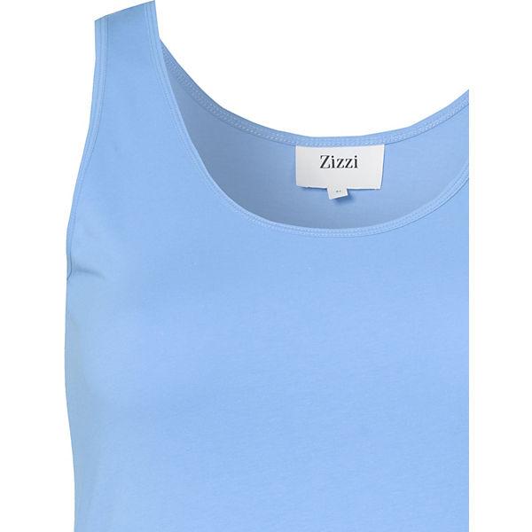 Zizzi Zizzi Top Top blau SSrX5q