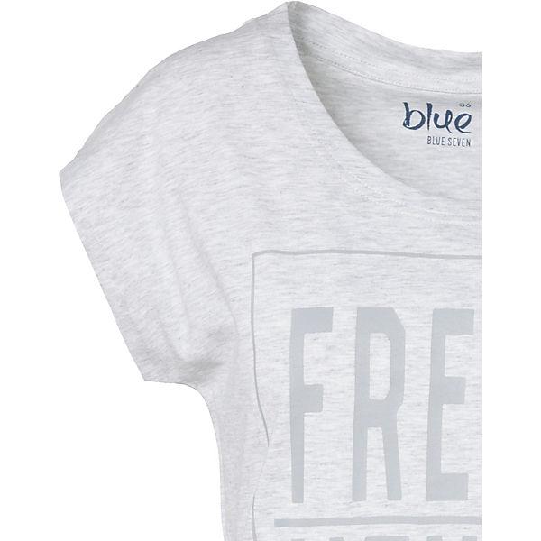 blue blue T T hellgrau Shirt Shirt qBdqHE