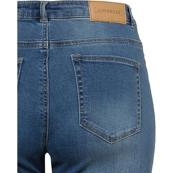 blue Straight JUNAROSE denim Jeans JUNAROSE Jeans UTIOwq