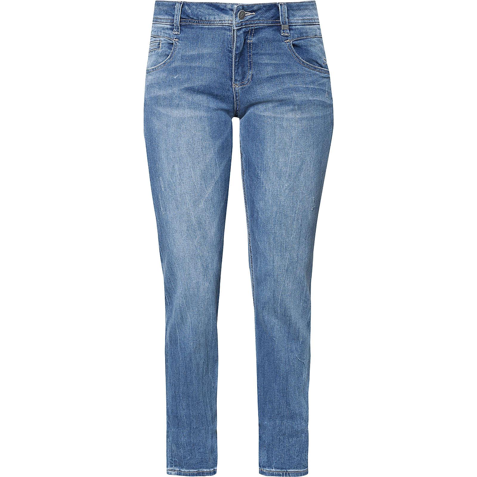 s.Oliver Jeans Smart Straight blau Damen Gr. 34/L32