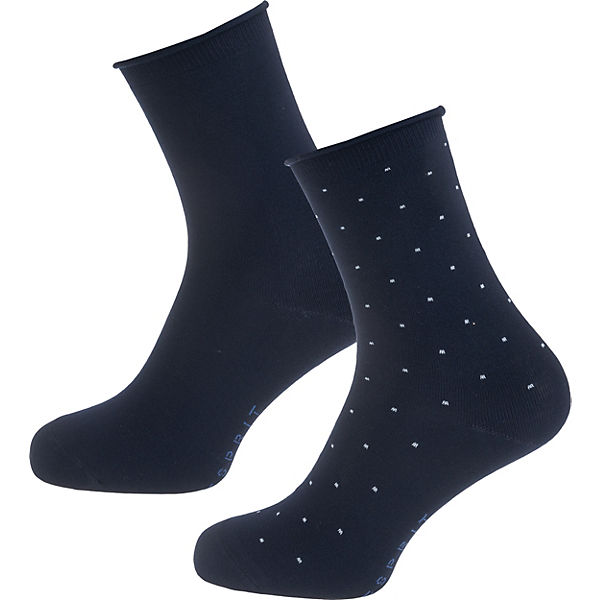ESPRIT 2 Paar Socken dunkelblau