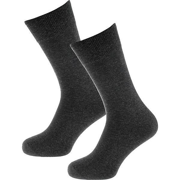 2 SCHIESSER SCHIESSER 2 Paar Paar anthrazit Socken xR6qPC0w0U