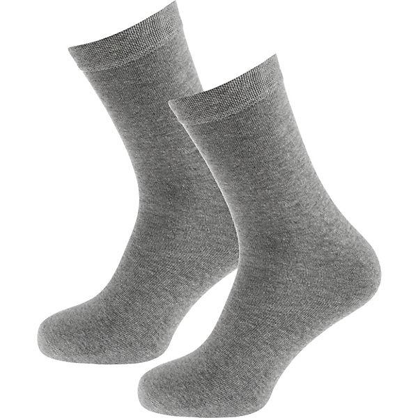 Socken SCHIESSER 2 grau 2 Paar grau 2 SCHIESSER Socken SCHIESSER Paar zcTfBq