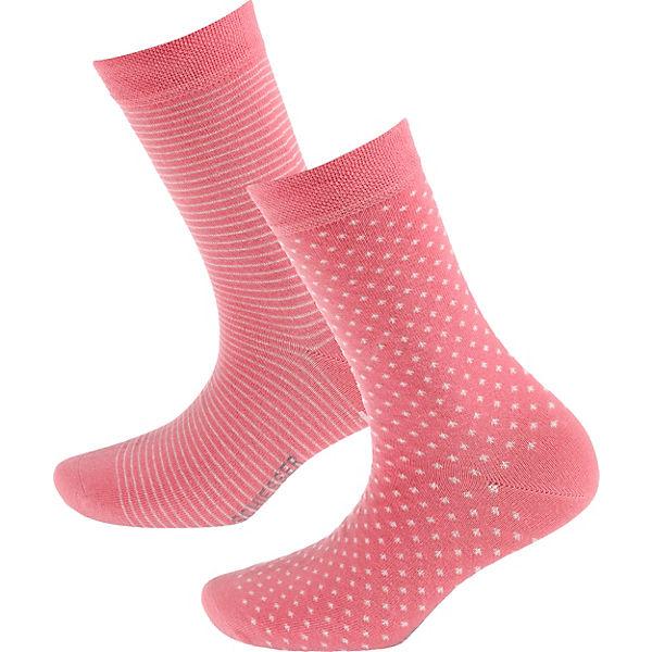SCHIESSER Paar 2 Paar Socken Socken rot rot 2 SCHIESSER PRr1OPw