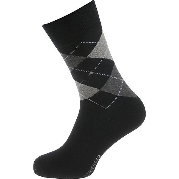 kombi Paar schwarz SCHIESSER Socken 5 qzIHOSwUx