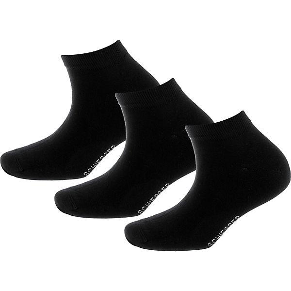SCHIESSER schwarz Paar 3 SCHIESSER 3 Sneakersocken FnYTO6xBw