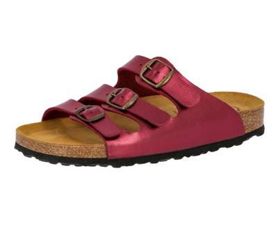 Lico »Pantolette Bioline Lady Soft« Hausschuh, rot, rot