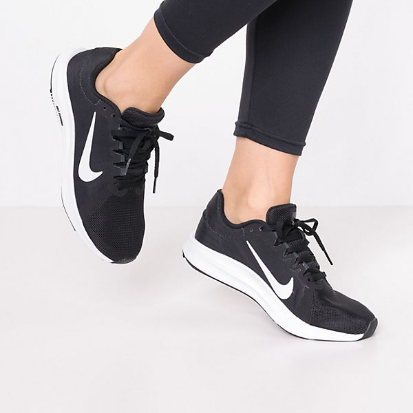 Laufschuhe 8 kombi schwarz Performance Downshifter Nike R4wqtfxR