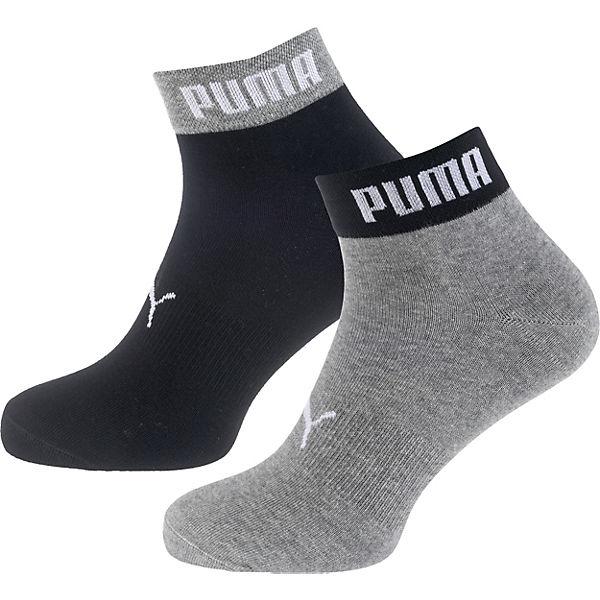 Kurzsocken Paar Socken PUMA 2 grau kombi PUMA FqWR8R0