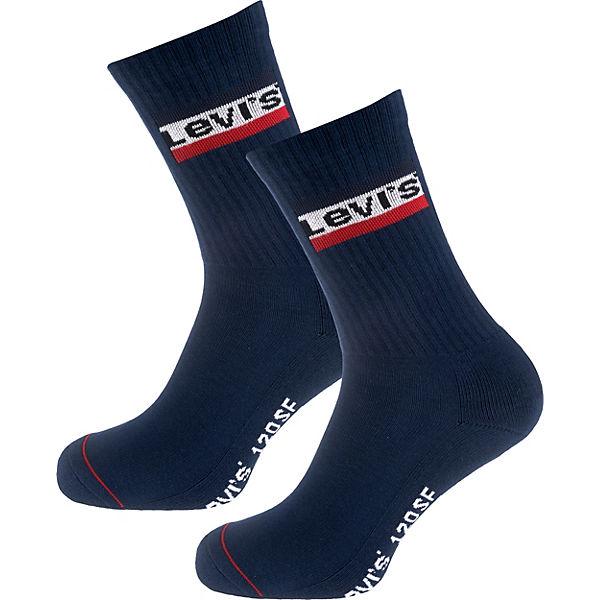 Levi's® Levi's® 2 Paar Socken Socken blau