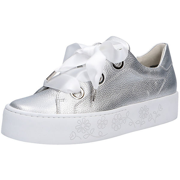paul green sneakers low silber mirapodo. Black Bedroom Furniture Sets. Home Design Ideas