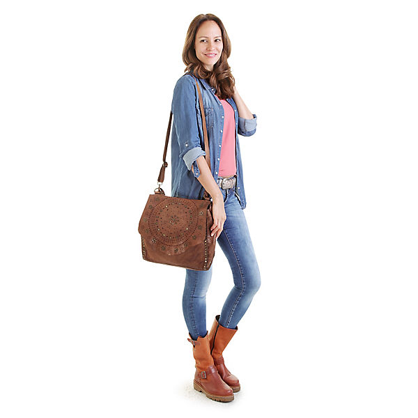 Samantha Look Samantha Look Shopper Cognac 7b6gfy