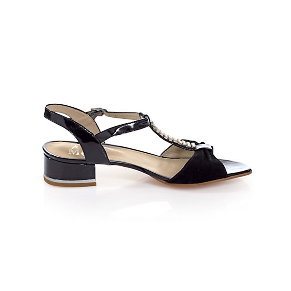 Alba Klassische Moda, Klassische Alba Sandalen, schwarz   ebd988