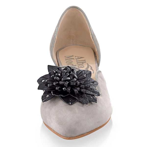 grau Ballerinas Moda Alba Alba Klassische Moda pqxvS6wHn